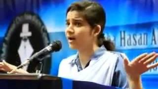 getlinkyoutube.com-Amazing Funny Speech By a girl-UsamaKaimKhani.mp4