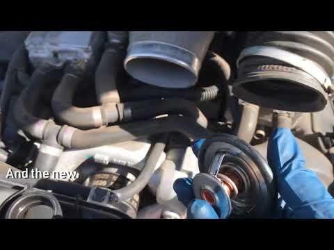 2005 Jaguar XJR Thermostat Replacement