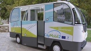 Trikala's driverless buses