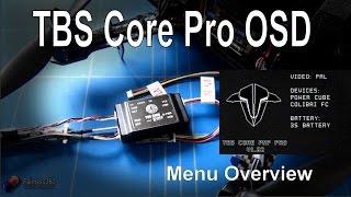 getlinkyoutube.com-TBS PowerCube - TBS Core Pro Menu Overview