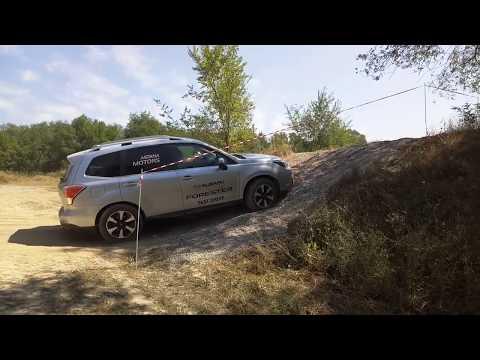 X-Mode. Тест-драйв кроссоверов Subaru (г. Алматы)