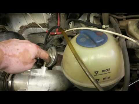 VW T4: Lean fuel trim... smoke check.