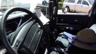 getlinkyoutube.com-Fully Restored 1991 CHP Crown Victoria - 80's Style Cop Car!