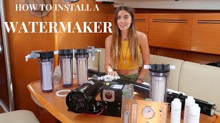 getlinkyoutube.com-How To Install a Watermaker (Sailing La Vagabonde)