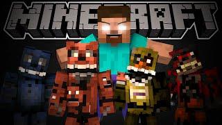 getlinkyoutube.com-If Herobrine Played Five Night's At Freddy's 4 - Minecraft