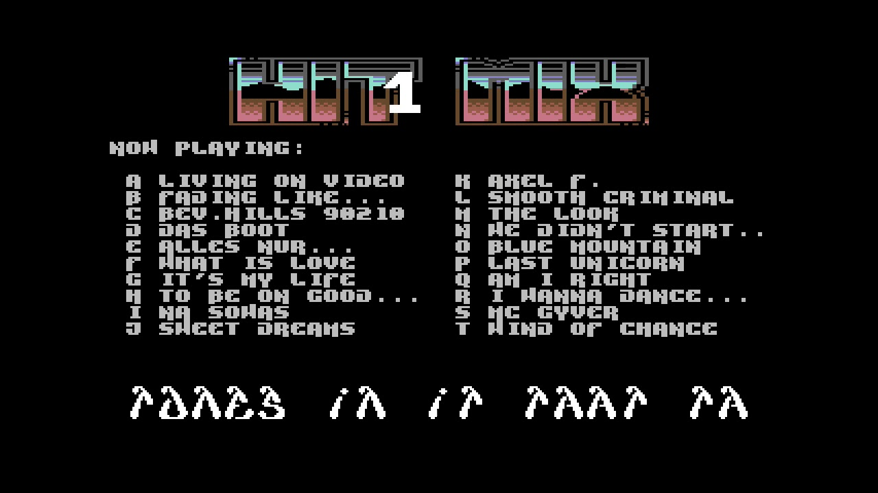 C64 80er HIT MIX