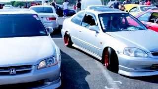 getlinkyoutube.com-Honda Day 2014 Car Show / MotorSport Event - ETown Raceway Park NJ  jdm honda racing