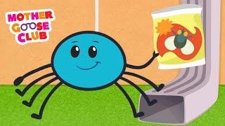 getlinkyoutube.com-Itsy Bitsy Spider | Mother Goose Club Songs for Children