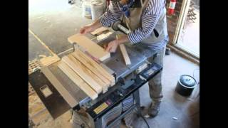 BeeFrames - Making and assembling beehive frames.
