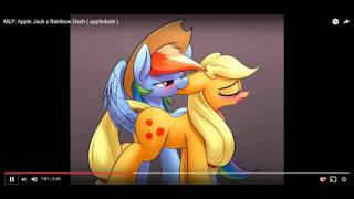 "getlinkyoutube.com-ActivistVictor reacts to ""MLP: Apple Jack x Rainbow Dash (appledash)"""