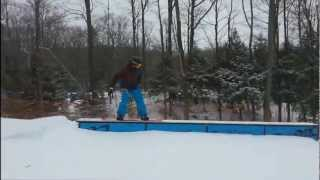 getlinkyoutube.com-Frontflip off Whaletail box with new Solomon snowboard