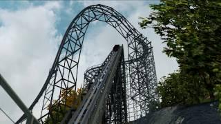 getlinkyoutube.com-[Nolimits Coaster 2] Desperado - RMC Wooden Coaster (60fps)