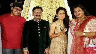 getlinkyoutube.com-Wedding Reception Party of Disha Vakani aka Dayaben of Taarak Mehta Ka Ooltah Chashmah