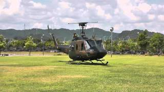 getlinkyoutube.com-UH-1 Huey Start up & Take off