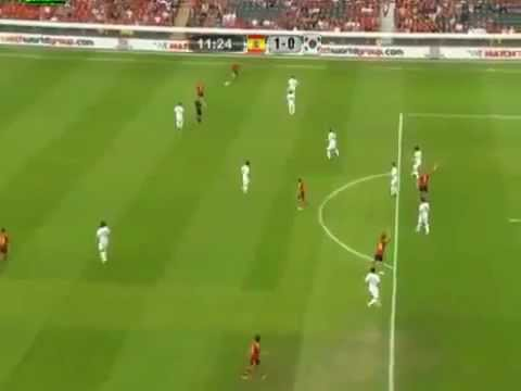 Spain vs South Korea 4-1 (HD) GOAL FERNANDO TORRES HEADER AMAZING 30.05.2012 -lsgfNwx7kMU