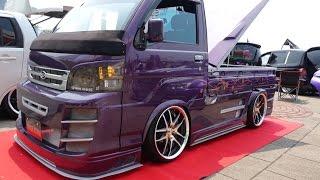 getlinkyoutube.com-(4K)custom pickup truck Daihatsu カスタム軽トラ - SHOW UPドレスアップコンテスト2015