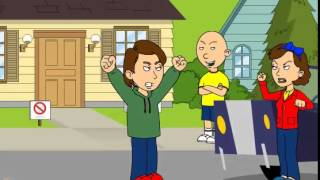 getlinkyoutube.com-Caillou sells the house and gets grounded