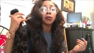 getlinkyoutube.com-DiamondDynasty Virgin Hair Opening Review
