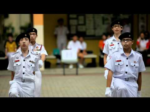 Singapore Red Cross Youth National Footdrill Competition 2011