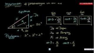 Matematika Kelas 10 - Bab 06 - 01 Pendahuluan Trigonometri