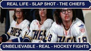 "getlinkyoutube.com-Real Life ""Slap Shot"" - Unbelievable Ice Hockey Fights (Documentary)"