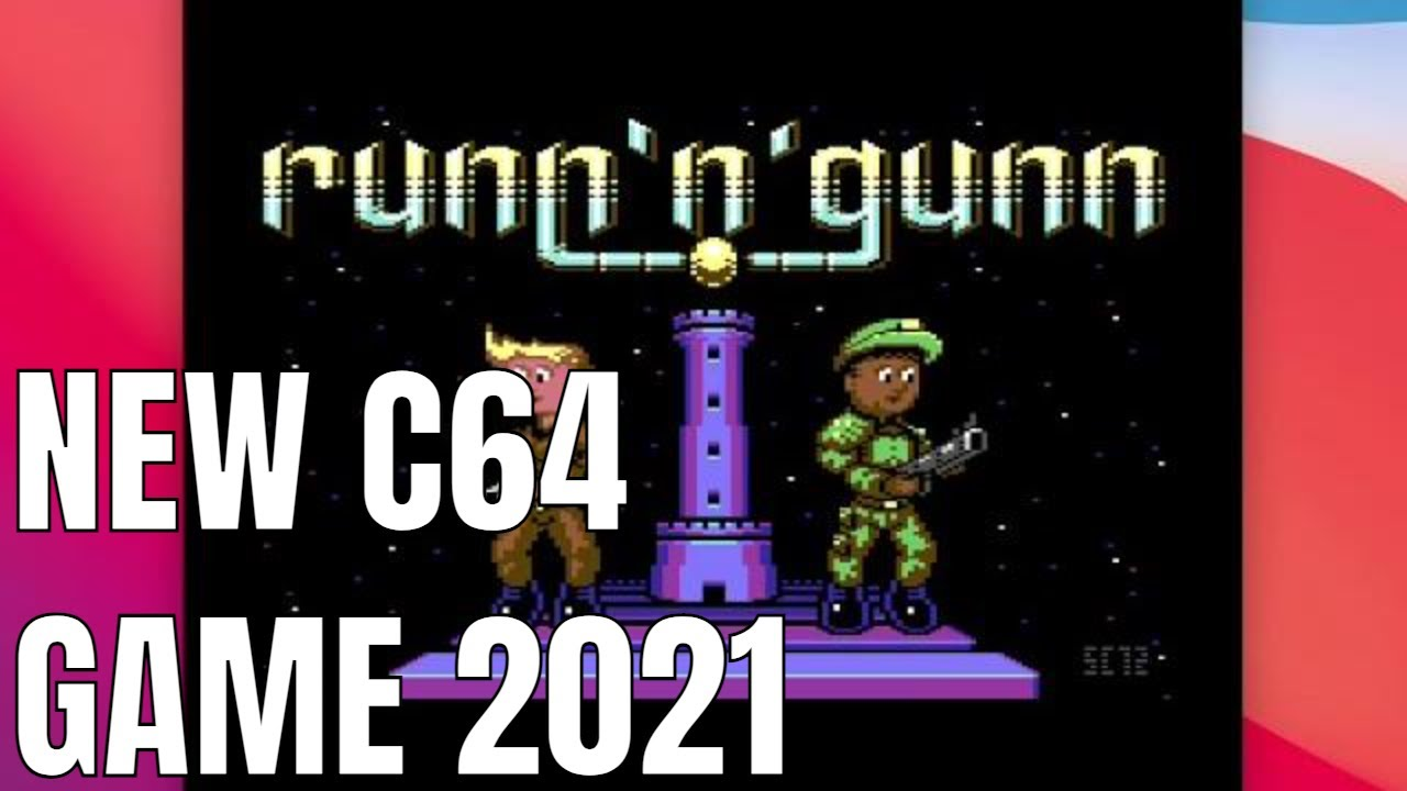 Runn n Gunn NEW C64 GAME 2021