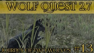 getlinkyoutube.com-A Stormy Wolf Courtship!! || Wolf Quest 2.7 - Brothers Journey || Episode #13