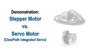 getlinkyoutube.com-Stepper Motors vs. Servo Motors- A Teknic Demonstration