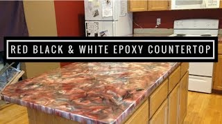 getlinkyoutube.com-Metallic epoxy countertop coating using Leggari products.  Product info at end of video