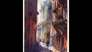 getlinkyoutube.com-Watercolour demonstration by Keith Hornblower