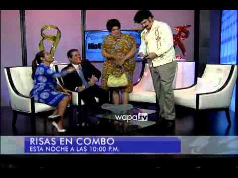 Pablo Escoba y su madre llegan a Noticentro   WAPA tv   Noticias   Videos