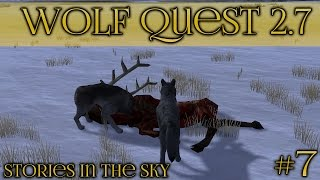 The Winter Hunt || Wolf Quest 2.7 - Stories in the Sky || Episode #7