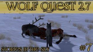 getlinkyoutube.com-The Winter Hunt || Wolf Quest 2.7 - Stories in the Sky || Episode #7