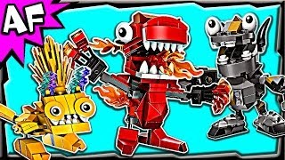 getlinkyoutube.com-Lego Mixels MAX Series 1: Infernites, Cragsters & Electroids Animated Building Review