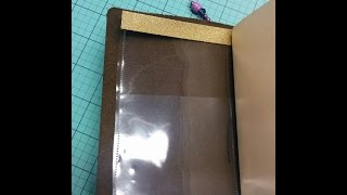getlinkyoutube.com-Fauxdori Clear Pockets Tutorial Using Page Protector