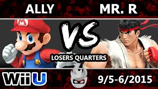 getlinkyoutube.com-Paragon LA - Boreal | Ally (Mario) Vs. LLL | Mr. R (Sheik, Ryu) SSB4 Losers Quarters - Smash Wii U