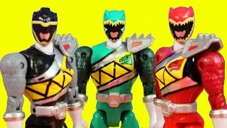 getlinkyoutube.com-Power Rangers Dino Charge Dino Action Pack Toy Set