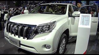 getlinkyoutube.com-New Toyota Land Cruiser Prado 2016, 2017, video review, interior
