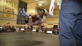 getlinkyoutube.com-Candice LeRae Crazy Flipping Piledriver To Cedric Alexander - Absolute Intense Wrestling