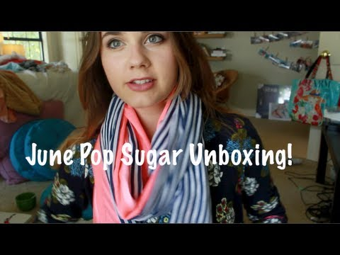 June Pop Sugar Unboxing!