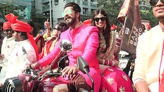 getlinkyoutube.com-Suyyash Rai & Kishwer Merchantt BIKE RALLY