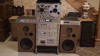 getlinkyoutube.com-Pioneer Vintage Stereo system & rack