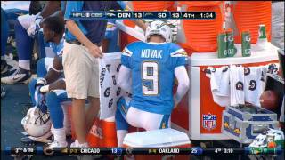 getlinkyoutube.com-Nick Novak peeing on the sideline during game (real HD)