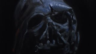 Darth Vader Destroyed - Painting Lesson