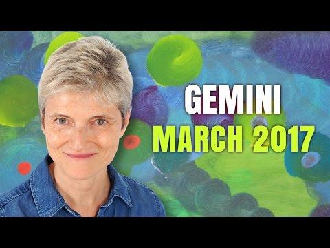 GEMINI MARCH 2017 Horoscope Forecast