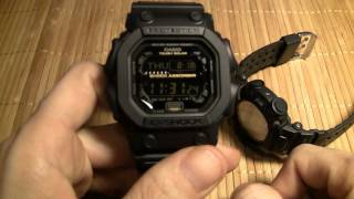 getlinkyoutube.com-Casio G Shock GX-56GB - Golden King
