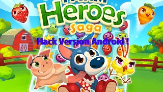 getlinkyoutube.com-(Tuto Cheat) Farm Heroes Saga Bonus/Vie illimité (Android) (FR) Root !