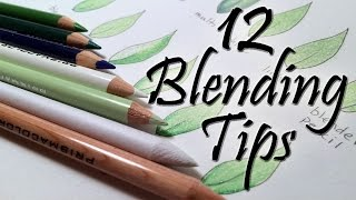 getlinkyoutube.com-12 Blending Tips for Colored Pencils