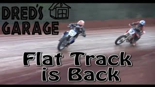 getlinkyoutube.com-Dred's Garage - Flat Track Motorcycle Racing in Alabama