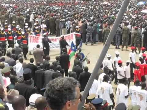 South Sudan Independence Day 09 July 2011